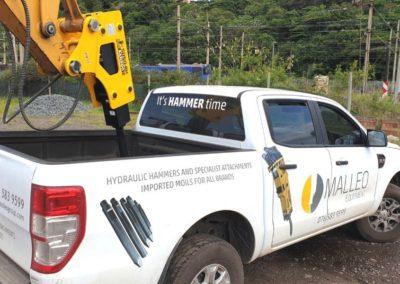 Malleo Equipment Hydraulic Hammer Umhlanga Earthworks